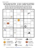 Puzzles: Sports Wordoku