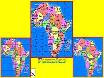 Maps - World Maps - Puzzles