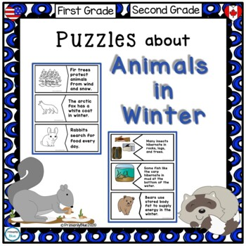 Puzzles about Animals in Winter