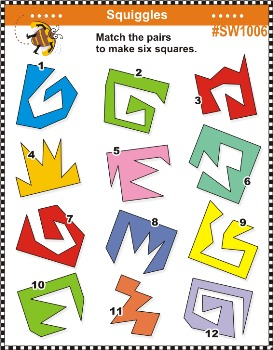 Puzzles and Mazes 10 - Word, Logic and Math Puzzles