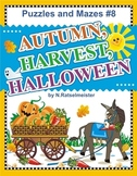 Puzzles and Mazes 8 - Autumn, Harvest, Halloween