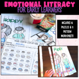 Feelings Puzzles and Patterns Worksheets | Identifying Emotions