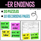 Puzzles for -ER Ending
