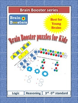 Puzzles for Kids ( 4th and 5th standard) from Brain Booster series