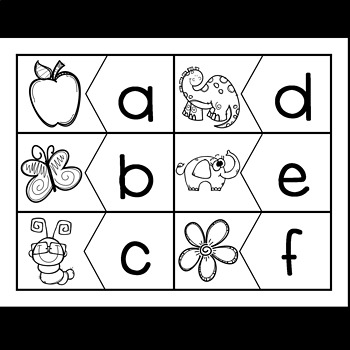 Puzzles for beginning Sounds! Every letter of the Alphabet!