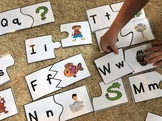 Puzzles to use with Phonics 2 YouTube Alphabet Song