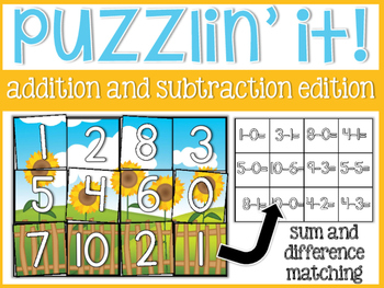 Puzzlin' It: Addition and Subtraction