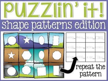Puzzlin' It: Shape Patterns