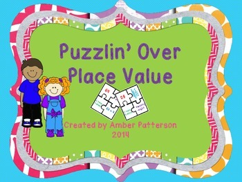 Puzzlin' Over Place Value