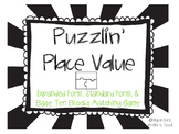 Puzzlin' Place Value Game