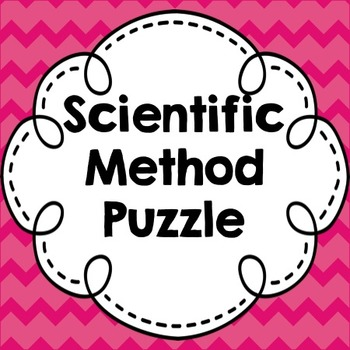 Puzzling! A Hands-On Look at the Scientific Method