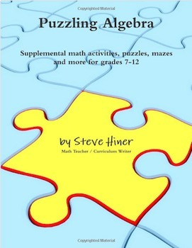 Puzzling Algebra by Steve Hiner