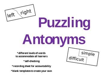 Puzzling Antonyms