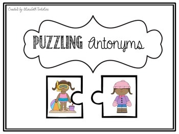 Puzzling Antonyms (Differentiated)