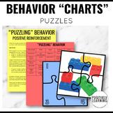 Behavior Incentive Chart Puzzles   Positive Reinforcement Visuals