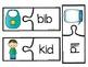 Puzzling CVC Words - CVC Picture Puzzles