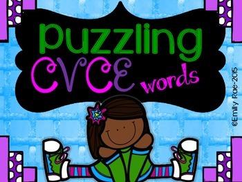 Puzzling CVCE Words - CVCE Picture Puzzles