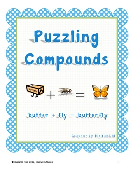Puzzling Compounds: Identifying and Making Compound Words