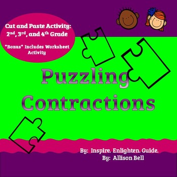 Puzzling Contractions: UPDATED EDITION