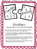 Puzzling Decimals - Equivalent Decimals and Fractions