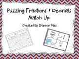 Puzzling Fraction & Decimal Match Up
