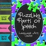 Puzzling Parts of Speech: Common Core Language Arts Center
