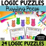 Distance Learning - Puzzling Peeps Problem Solving {Logic