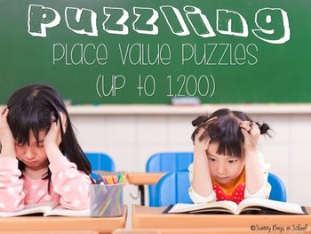 Puzzling Place Value Puzzles (up to 1,200)