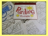 PREPRINTED! Puzzling Products Multiplication 2x-9x tables