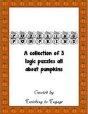 Puzzling Pumpkins Logic Puzzles