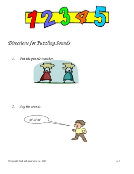 Puzzling Sounds (English and Spanish)