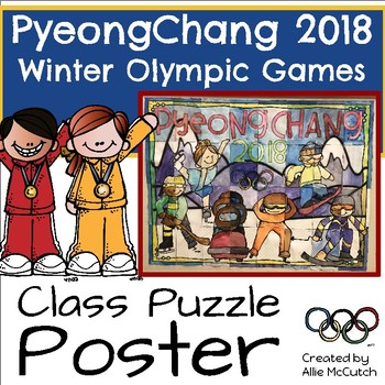 PyeongChang 2018 Class Puzzle Poster