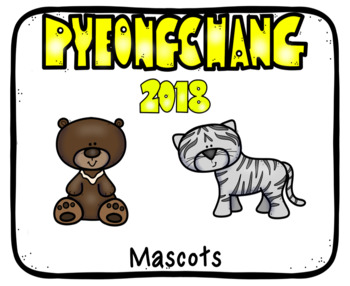 Olympic Winter Games PyeongChang 2018 Posters in Google Slides™