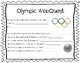 PyeongChang 2018 Winter Olympic WebQuest and Sport Report Lower Elementary