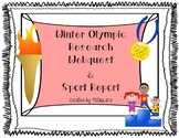 PyeongChang 2018 Winter Olympic WebQuest and Sport Report