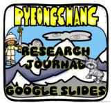 Olympic Winter Games PyeongChang 2018 Digital Journal in Google Slides™