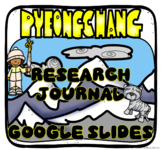 Olympic Winter Games PyeongChang 2018 Digital Journal in Google Slides™