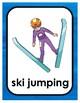 PyeongChang Winter Olympics BINGO + 16 bonus pages of vocabulary words