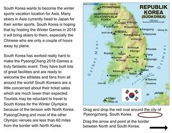 PyeongChang Winter Olympics: Google Classroom Interactive Lesson