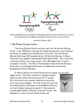 PyeongChang XIII Winter Olympics