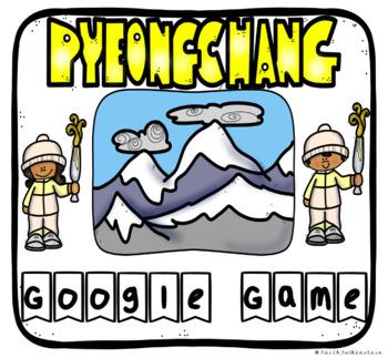 Olympic Winter Games Pyeongchang 2018 Editable Digital Activity Google Slides™