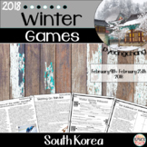 2018 Winter Olympics Packet (Pyeongchang, South Korea)