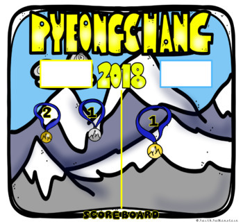 Olympic Winter Games Pyeongchang 2018 Digital Scoreboard