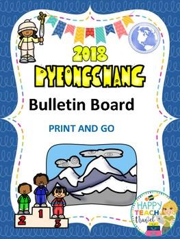 Pyeongchang 2018 winter sports bulletin board