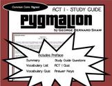 Pygmalion ACT I Study Guide (George Bernard Shaw)