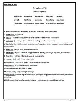 pyg on act iii study guide george bernard shaw by vernessa neu pyg on act iii study guide george bernard shaw