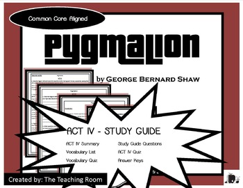 pyg on act iv study guide george bernard shaw by vernessa neu pyg on act iv study guide george bernard shaw