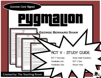 Pygmalion Epilogue Study Guide (George Bernard Shaw)