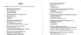 Pygmalion Reading Test and Answers