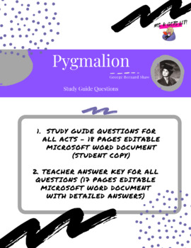pyg on study guide questions and answers by mirela kucinic tpt pyg on study guide questions and answers